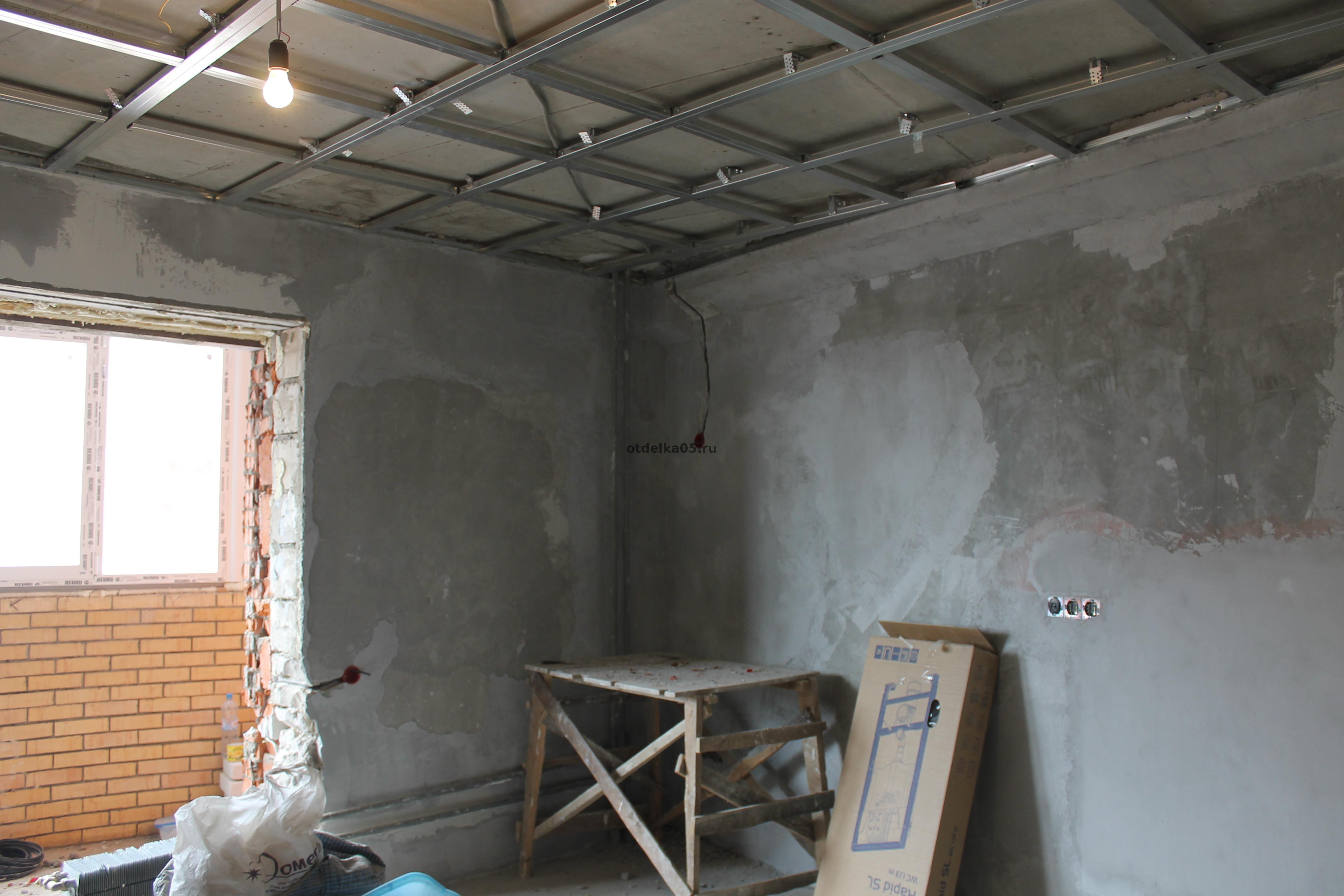 Фото квартир в процессе ремонта
