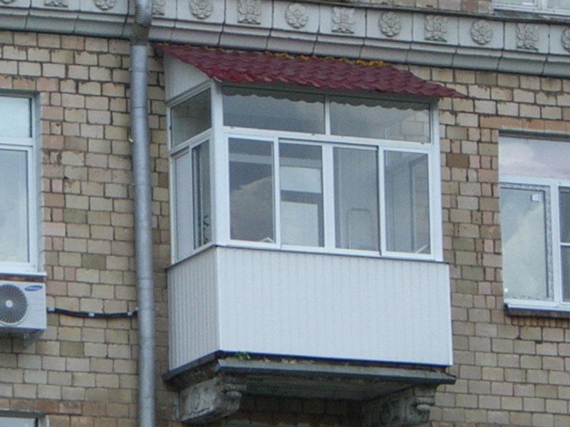 Чем отделать козырек балкона. - наши работы - каталог статей.
